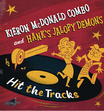 KIERON McDONALD & HANK'S JALOPY DEMONS - (New 2018 VINYL LP) (Modern ROCKABILLY)