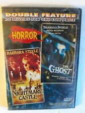 Nightmare Castle / The Ghost DVD [2 Classic Horror Movies] Barbara Steele *NEW*