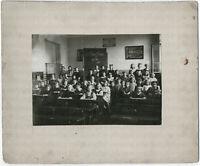 Klassenphoto, 1. Schuljahr 1917/18, Orig.-Photographie, von 1917