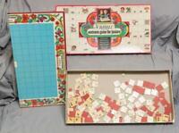 Vintage Scrabble Sentence Game For Juniors Game g50