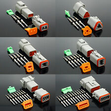 2pin3pin4pin Dt04 Dt06 Waterproof Wire Connector Socket Plug Electrical Auto