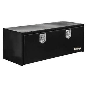 BUYERS PRODUCTS 1702310 Underbody Truck Box,Black,9 cu. ft. Cap.