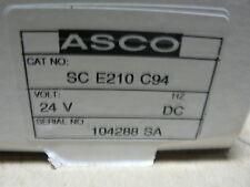 ASCO BALL VALVE SCE210C94 24V R0021379 GENERAL DYNAMICS R0021379