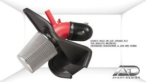 FOR 2013-2014 HYUNDAI GENESIS COUPE 2.0L 2.0 AF Dynamic COLD AIR INTAKE RED KIT