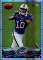 2013 Topps Chrome Prism Refractors 260 Football Card Pick