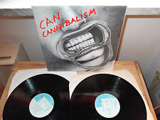 """CAN """"CANNIBALISM"""" 2 LP CELLULOID FRANCE 1978 - GATEFOLD"""