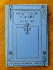 Very Young Verses - A A Milne (Hardback, 1932 3rd edition)