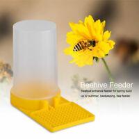Honey Bee Beehive Water Feeder Drinking Entrance Hive Beekeeping Equipment Tool
