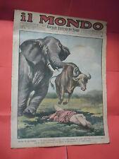 IL MONDO GIORNALE ILLUSTRATO DEI VIAGGI-N°4   DEL 1932-SONZOGNO MATARELLI MILANO
