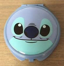 Disney Lilo & Stitch Face Compact Mirror New With Tags, Blue, Dual Sided!