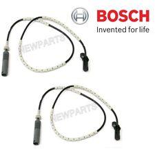 NEW For BMW E82 E88 325i 3.0L L6 Pair Set of Rear Left & Right ABS Sensors Bosch