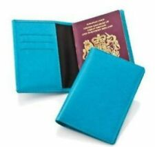 Turquoise Passport Holder with Credit Card Slots - pu56