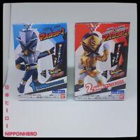 (BANDAI) Lupinranger VS Patranger Mascot 2: Lupin X + Patren X Keychain Set