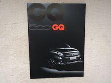 f2fc8093f005d New listingFiat 500 GQ - Brochure - 2013 - Mint