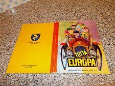 ALBUM figurine TUTTA EUROPA LA FOLGORE 1966 ORIG. COMPLETO OTTIMO COP.CARTONATA