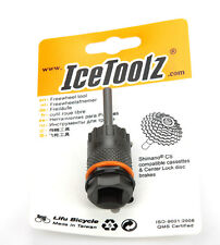 IceToolz 09C1 bicycle Shimano CS cassettes center lock disc brake freewheel tool
