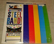 RUPERT STERLING & HIS STEEL BAND, REGGAE VINYL LP, NM in shrink-wrap
