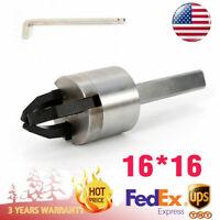 USA CNC Lathe Bar Puller Automatic Lathe Feeder Pulling Square Handle 16*16 New