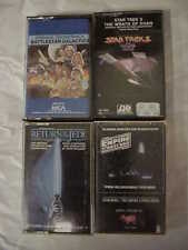 Battlestar Galactica - Star Wars - Star Trek Cassette Movie Sound Track