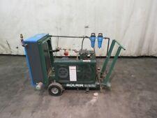 ROLAIR AIR COMPRESSOR, 5 HP, 230 V, 18.8 CFM, SPX HANKISON DESICCANT AIR DRYER