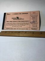 Vintage 1964 1965 New York Worlds Fair Greyhound Tour NYWF-2