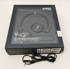 AKG Y40 High-performance Foldable Mini On-Ear Headphones Black (no remote cable)