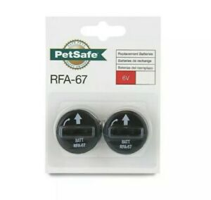 PetSafe RFA-67 6 Volt Replacement Battery - Pack of (2)Two - RFA-67D-11