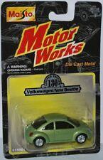 Maisto Motor Works #130 - VOLKSWAGEN NEW BEETLE - green - ca. 1:64