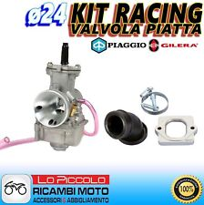CARBURATORE RACING POLINI PWK ø24 + COLLETTORE VESPA 50 SPRINT - S 2T