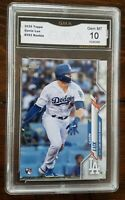 ** GEM MINT 10 ** 2020 Topps Series 1 #292 Gavin Lux Dodgers Rookie... PSA comp