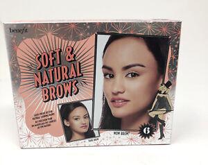 Benefit Soft & Natural Brows - Kit for Natural Looking Brows - # 6- Deep NIB