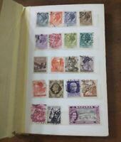 Vintage International 108 Postage Stamp Album Stamps/Post