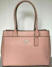 New Coach F31474 Casey Tote Crossgrain Leather Extra Large handbag Petal