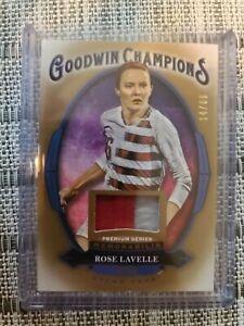 Rose Lavelle 2020 Goodwin Champions Premium Memorabilia 14/65 USWNT