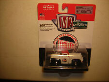 M2 CASTLINE 1:64 AUTO-DRIVERS 1956 FORD F-100 TRUCK HOLLEY SERIES 49 FREE SHIP