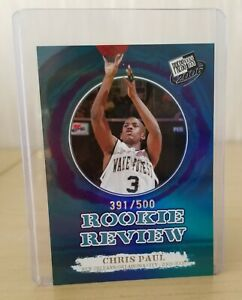 Chris PAUL 2006 Press Pass Rookie Reflector #RS9 (#391/500) Wake Forest / Mint+
