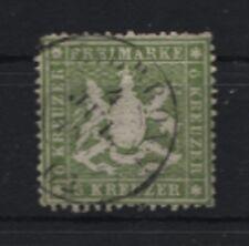 Württemberg 18 y gestempelt  geprüft (B04406)