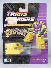 Transformers - Decepticon Constructicon Scavenger -hasbro -blister Español-1991