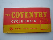 """RENOLD THE COVENTRY CYCLE CHAIN 1/2"""" x 1/8"""" - NOS - NIB"""