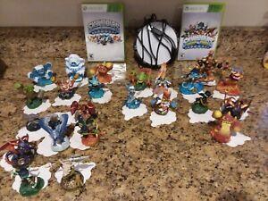 SKYLANDERS LOT XBOX 360 Figures Portal Giants Spyros Adventure Swap Force Giants