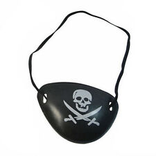 2X Pirate Eye Patch Skull Crossbone Halloween Party Favor Costume Kids Toy FT