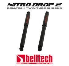 "97-04 Dodge Dakota 2WD Nitro Drop 2 Rear Shocks 2"" to 4"" Drop (Pair)"
