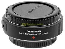 Olympus Digital MMF-3 adapter AF per montare ottiche 4/3 su micro 4/3.