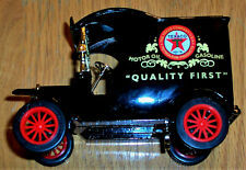 Gearbox Toy 1912 Ford Model T Texaco Delivery Car Die Cast Coin Bank