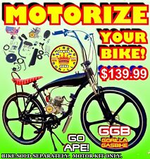 New 2-Stroke 66cc/80cc Motorized Bike Kit For Bicycles Moped Dirt Bike Category