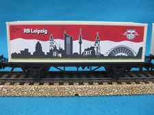 Märklin H0 44814 Eisenbahnwagen DFB Fu�Ÿballbundesliga RB Leipzig Fan-Artikel NEU