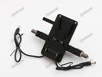 V-Lock V Mount Battery Plate 19mm Rod Clamp for BMD Blackmagic URSA BMCC BMPCC