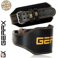 Cinturón de Cuero Espalda Soporte Tira Gimnasio Fitness Entrenamiento Athletics