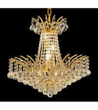 Palace Flamingo B   8 Light Crystal Chandelier Light Lamp Gold-Precio Mayorista