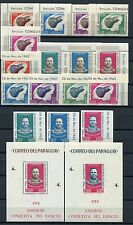 51/SPACE RAUMFAHRT 1963 PARAGUAY Astronaut Cooper 1233-48 + Bl.46-47 ** MNH